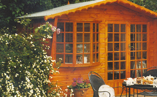 Sandringham wooden summerhouse