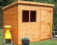 our full range of wooden sheds