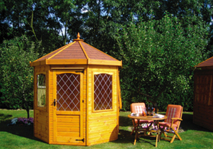 Shedlands - Octagon 7 summerhouse