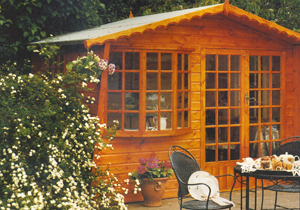 Shire - Sandringham wooden summerhouse
