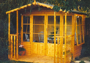 Shire - Woburn wooden summerhouse